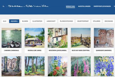 Webdesign Kunst