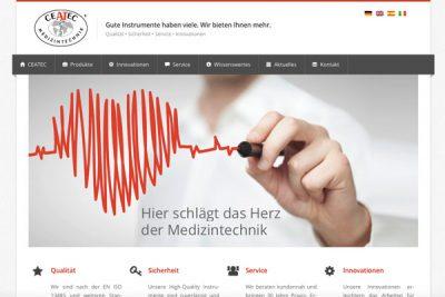 Webdesign CEATEC