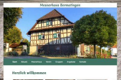 Webdesign Mesnerhaus