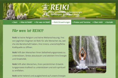Webdesign Reiki