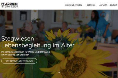 Webdesign Stegwiesen