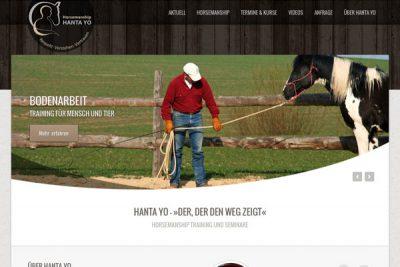 Webdesign Horsemanship